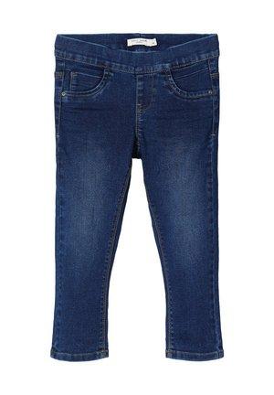 NAME IT LEGGINGS CAPRI DENIM - Straight leg jeans - medium blue denim