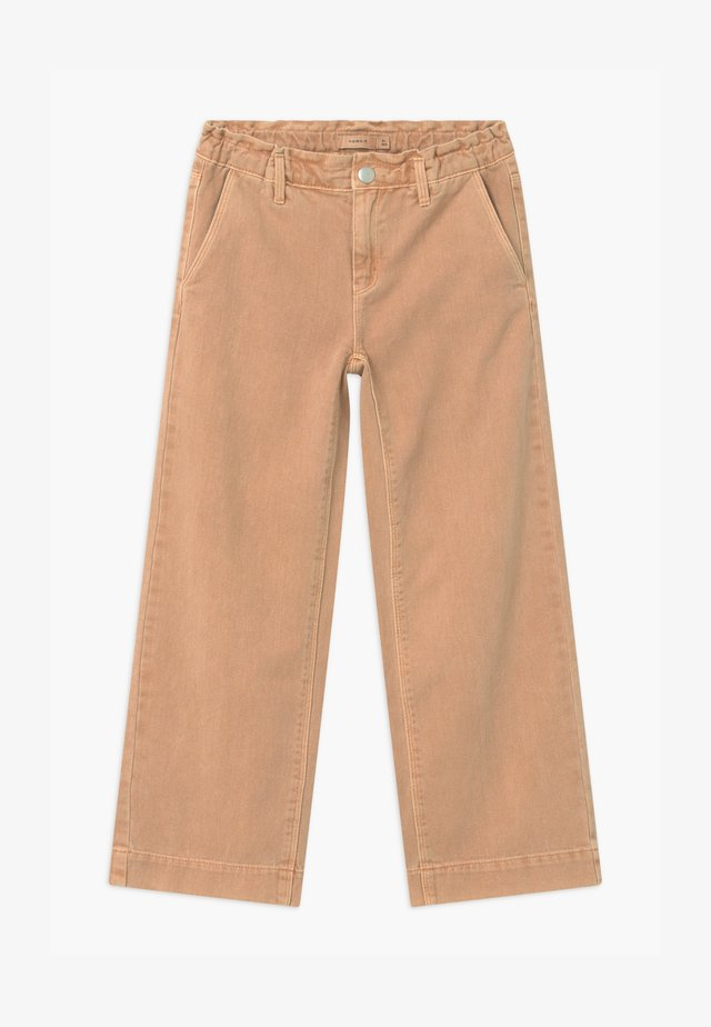 NKFIZZA CAMP - Relaxed fit jeans - beach sand