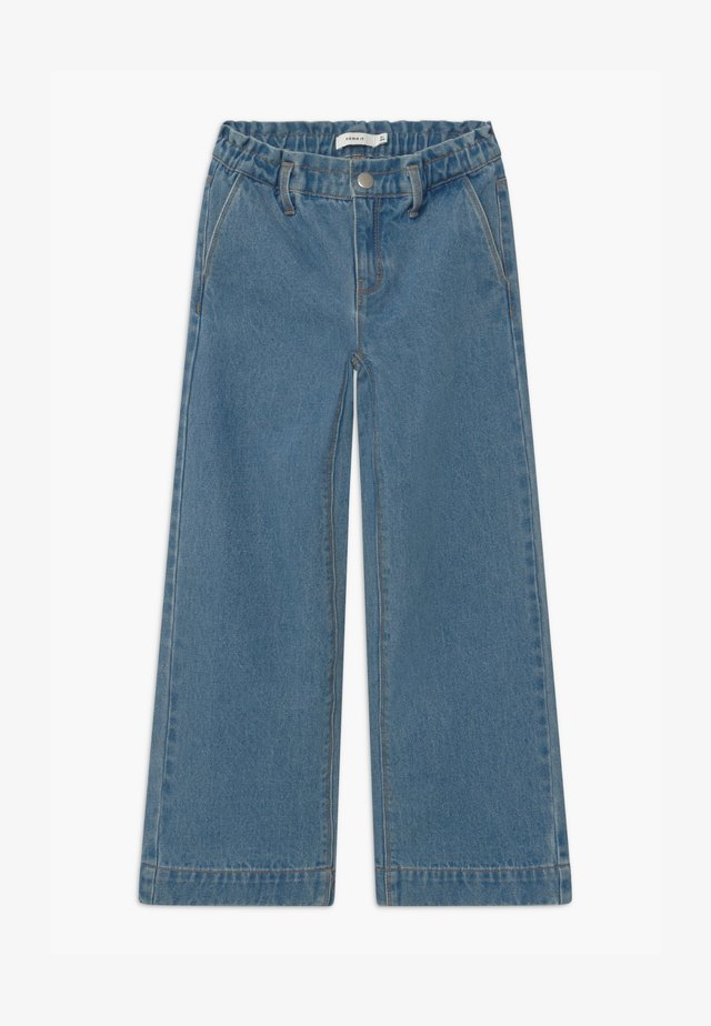 NKFIZZA CAMP - Relaxed fit jeans - light blue denim