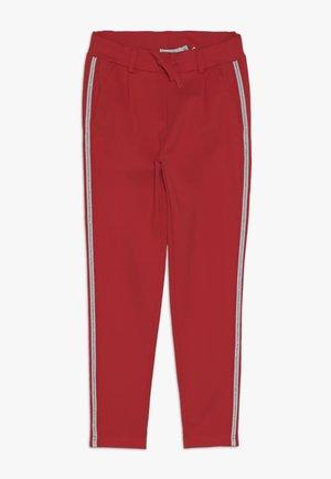 NKFLORNELIA IDA  - Pantalon classique - poppy red