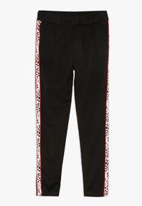 Name it - NKFLEXI IDA NORMAL PANT - Pantaloni - black - 0