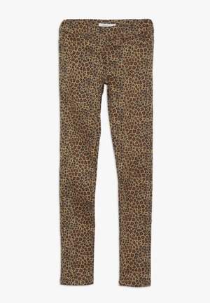 NKFPOLLY TWIATINNA - Pantalon classique - brown sugar