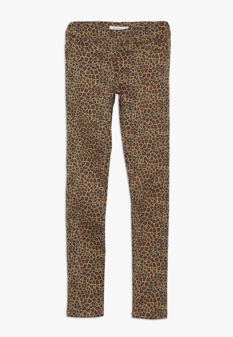 Name it - NKFPOLLY TWIATINNA - Spodnie materiałowe - brown sugar