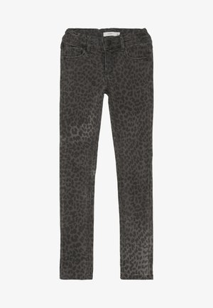 NKFPOLLY TWITULEO PANT  - Jeans slim fit - dark grey