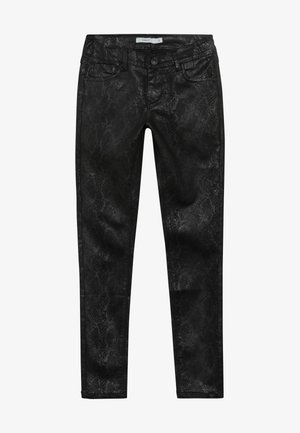 NKFPOLLY PANT - Tygbyxor - black