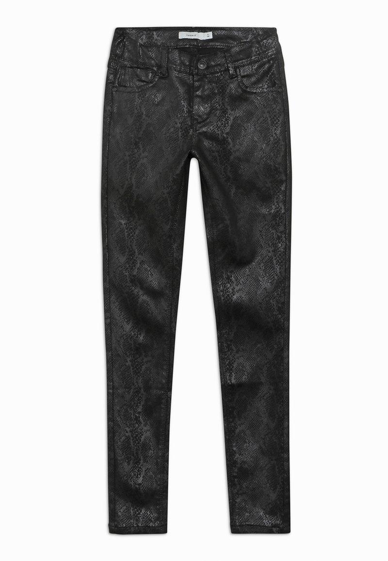 Name it - NKFPOLLY PANT - Broek - black