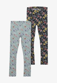 Name it - NKFSECILIA 2 PACK - Leggings - Trousers - black/gray mist - 3