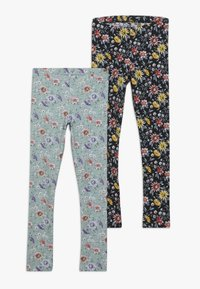 Name it - NKFSECILIA 2 PACK - Leggings - Trousers - black/gray mist - 0