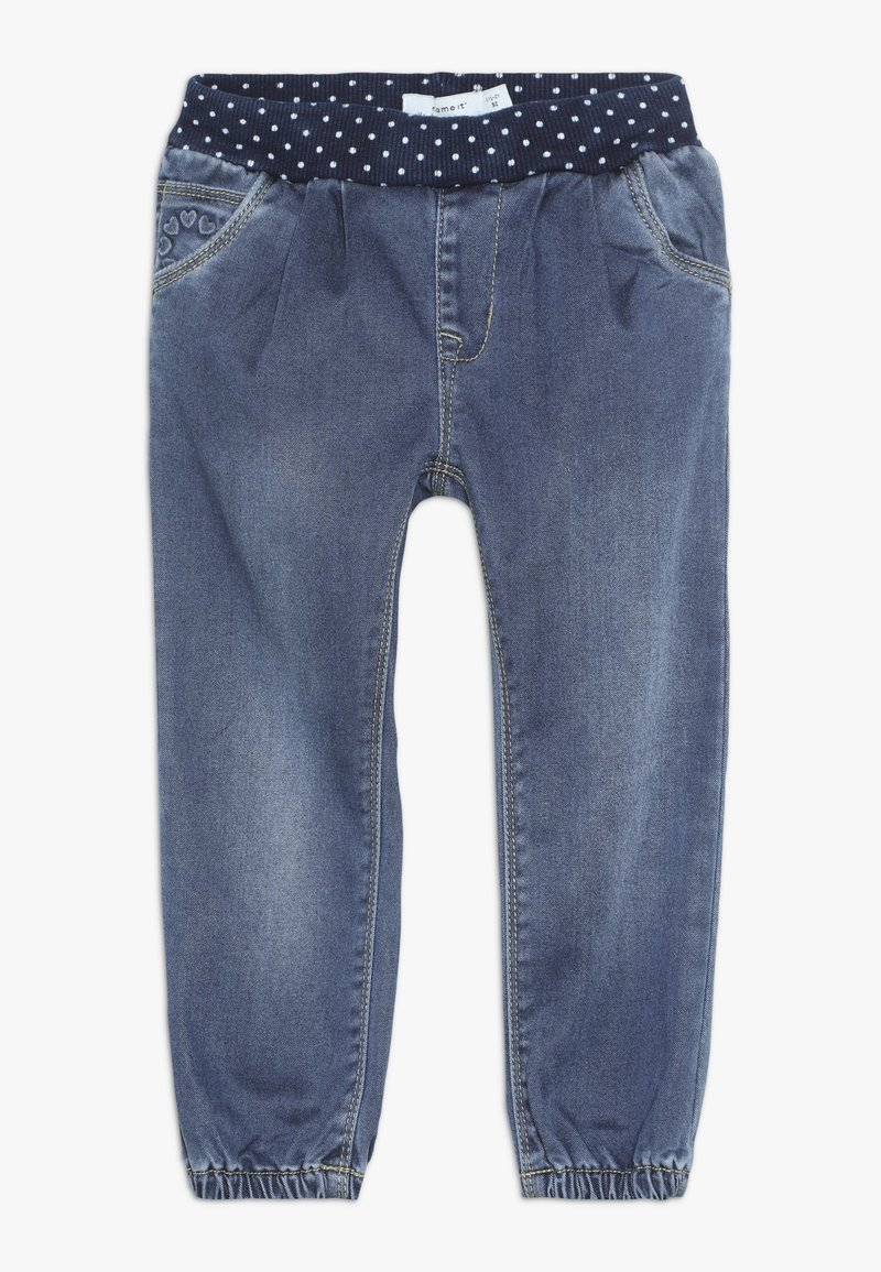 Name it - NMFBIBI PANT - Džíny Relaxed Fit - medium blue denim