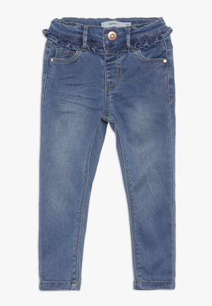 NMFPOLLY PANT - Skinny džíny - medium blue denim
