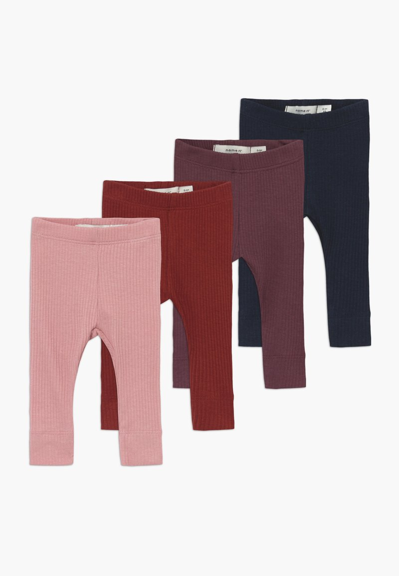 Name it - NBFOBEX 4 PACK - Legging - dark sapphire/russet/brown