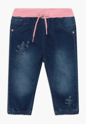 NBFRIE PANT - Jeans Tapered Fit - medium blue denim