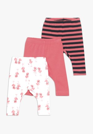 NBFLEGGING 3 PACK  - Leggings - Trousers - calypso coral
