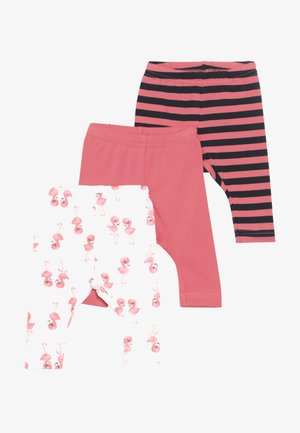 NBFLEGGING 3 PACK  - Leggings - calypso coral
