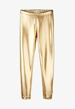 GLANZ - Leggings - gold