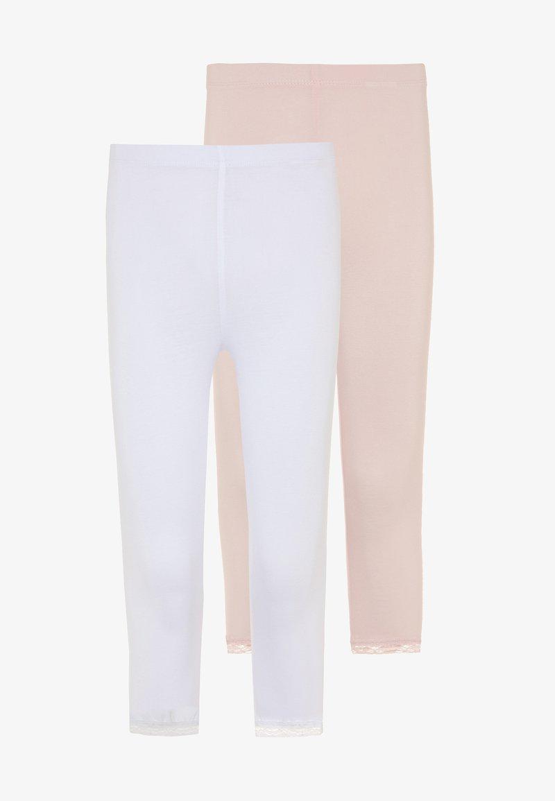 Name it - NKFVISTA CAPRI 2 PACK - Leggings - Trousers - bright white