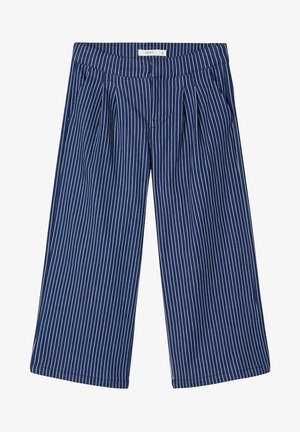 Pantalon classique - dark blue denim