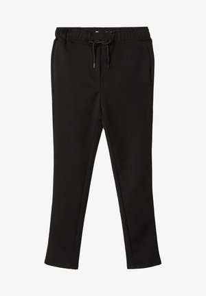 HOSE GUMMIBUND - Trousers - black