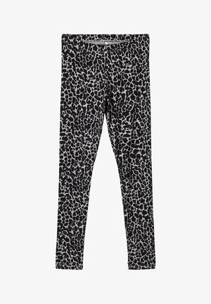 LEGGINGS LEOPARDENPRINT - Leggings - Trousers - grey melange