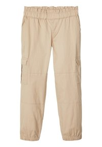Name it - CARGOHOSE LOOSE FIT - Trousers - white pepper - 0