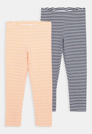 NKFVIVIAN CAPRI 2 PACK - Leggings - Trousers - bright white