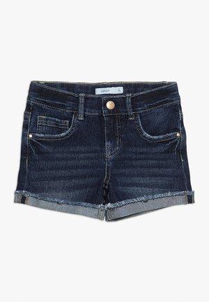 Shorts di jeans - dark blue denim