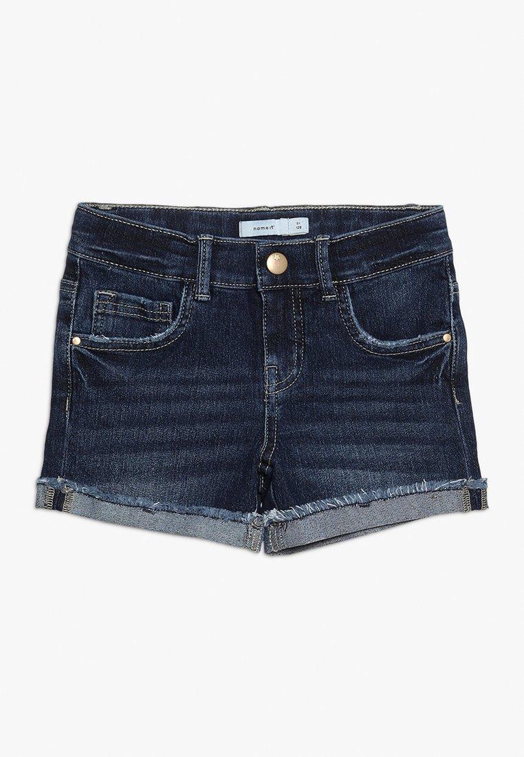 Name it - Jeans Shorts - dark blue denim