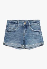 Name it - Denim shorts - light blue denim - 0
