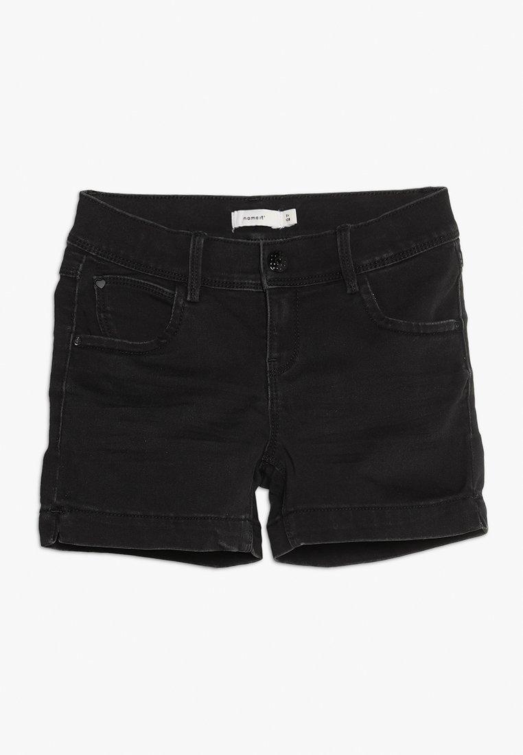 Name it - NKFSALLI - Jeans Short / cowboy shorts - black denim