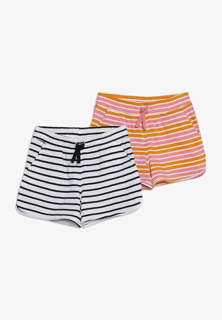 Name it - 2 PACK - Pantalones deportivos - bright white/cadmium yellow