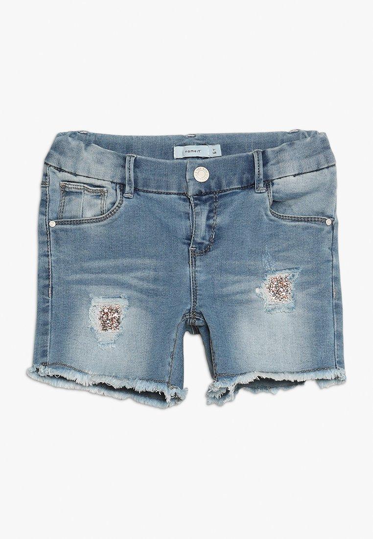 Name it - Jeans Shorts - medium blue denim