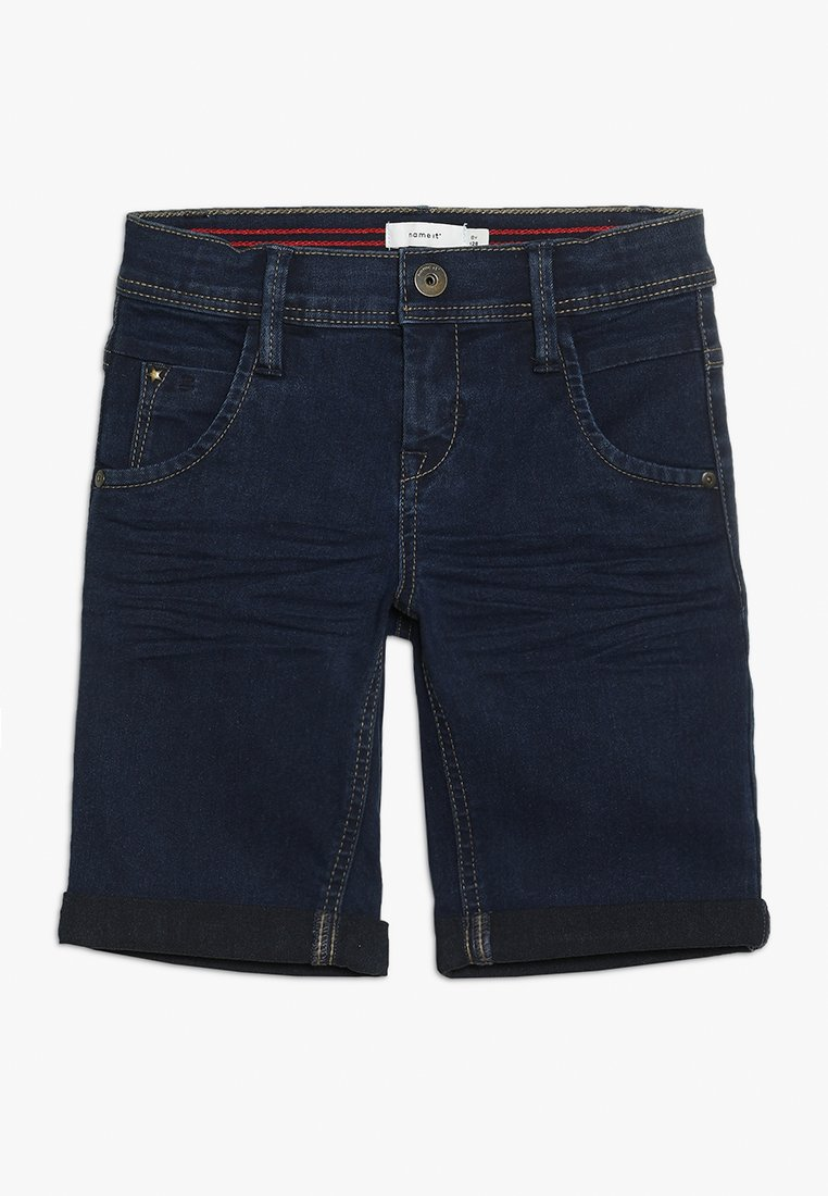 Name it - SOFUS - Shorts vaqueros - dark blue