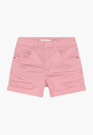 NKFROSE MOM - Denim shorts - pink nectar