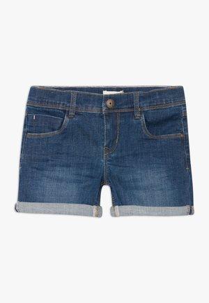NKFSALLI - Szorty jeansowe - dark blue