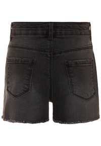 Name it - NKFRANDI  - Szorty jeansowe - black denim - 1