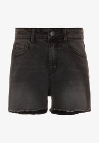 Name it - NKFRANDI  - Szorty jeansowe - black denim - 0