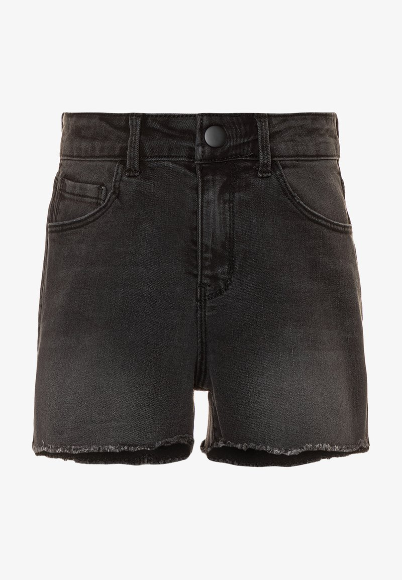 Name it - NKFRANDI  - Szorty jeansowe - black denim