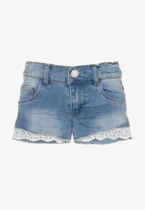NKFSALLI - Denim shorts - light blue denim