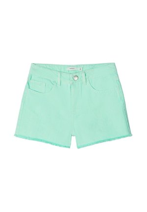 NKFRANDI MOM TWIIZZA CAMP - Jeans Shorts - green ash