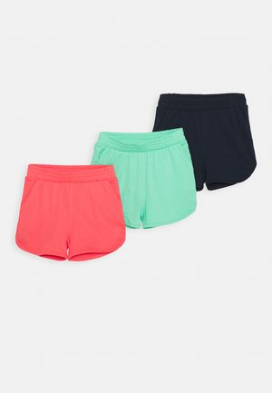 NKFVALINKA 3 PACK - Pantalones deportivos - calypso coral
