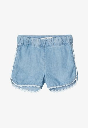 JEANSSHORTS LEICHTE - Jeans Short / cowboy shorts - light blue denim
