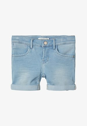 Denim shorts - light blue denim