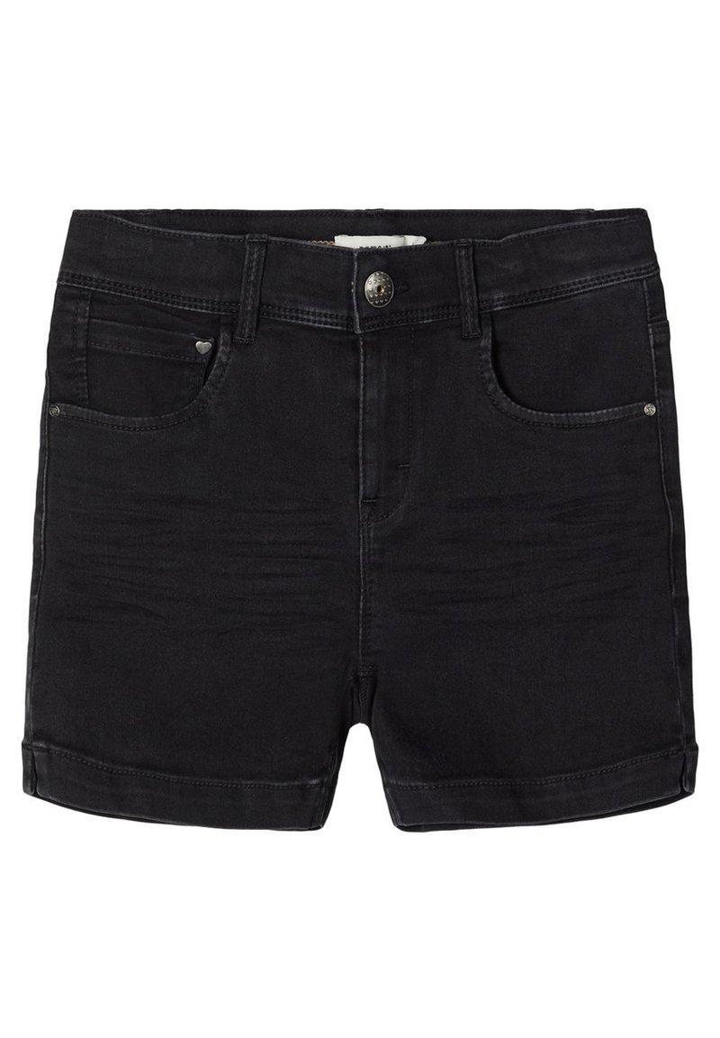 Name it - Jeansshort - black denim