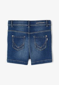 Name it - HIGH WAIST - Shorts di jeans - medium blue denim - 1
