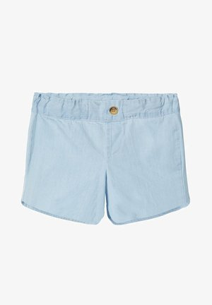 JEANSSHORTS LEICHTE GEWEBTE - Jeansshort - light blue denim