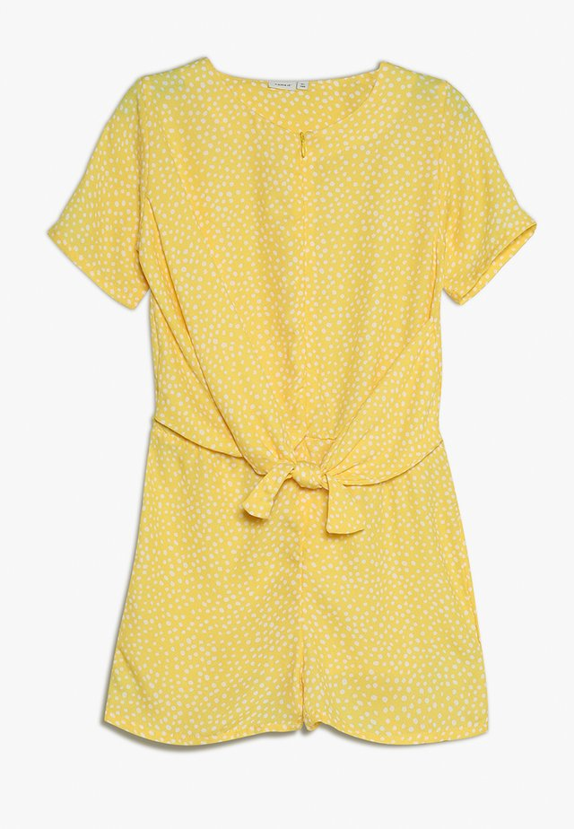 NKFBALUKKA SUIT EXCLUSIVE - Overall / Jumpsuit - primrose yellow