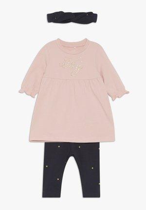 NBFRIKKE DRESS SET - Leggings - Trousers - dark sapphire
