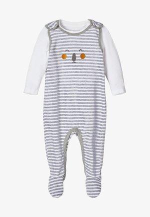 Geboortegeschenk - grey melange
