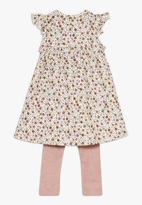Name it - NBFHUTINA DRESS NBFHORINA SET - Leggings - nostalgia rose - 1