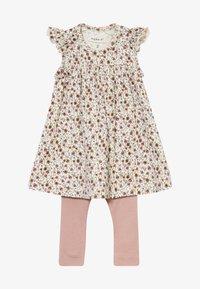 Name it - NBFHUTINA DRESS NBFHORINA SET - Leggings - nostalgia rose - 4